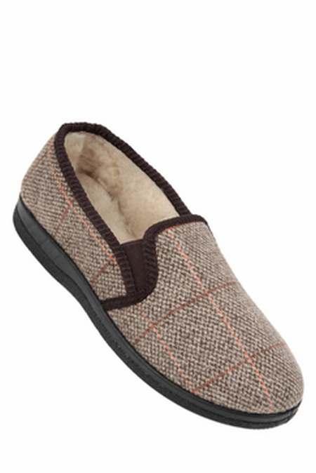 bcc102e33794a chaussons homme dessus cuir,chausson pour homme amazon,chaussons norvegiens  femme
